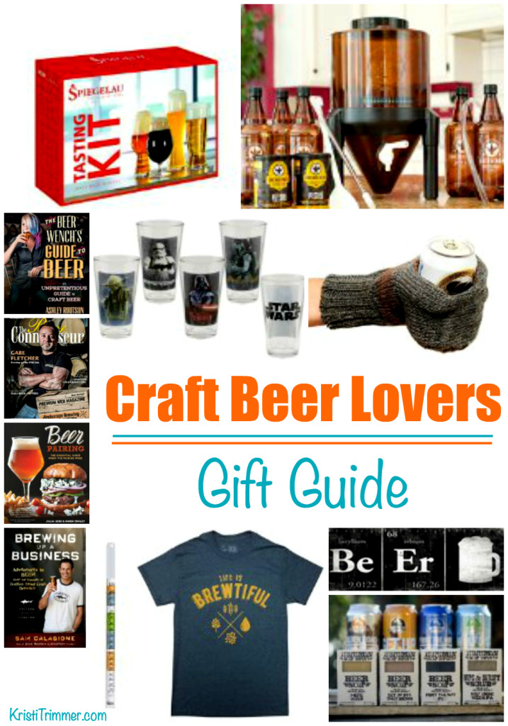 Craft Beer Lovers Gift Guide 2015