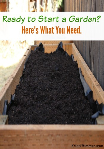 Ready to Start a Garden? Here's What You Need