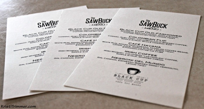 Sawbuck_The Menu