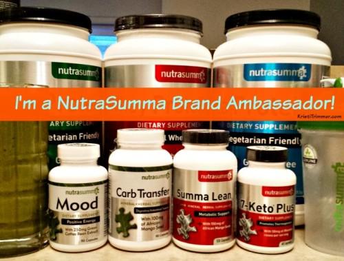 I'm a NutraSumma Brand Ambassador