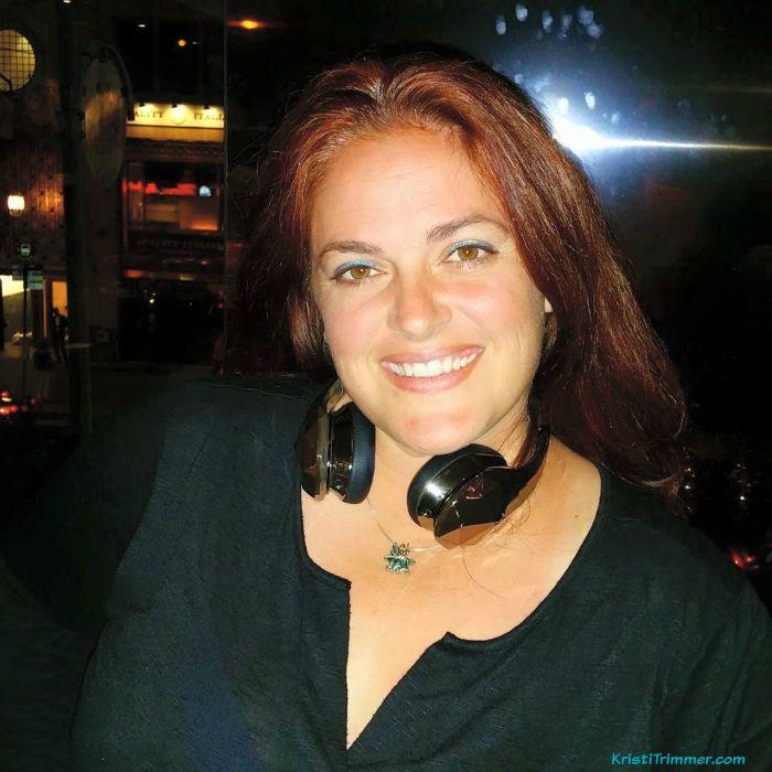 Kristi & Monster Headphones