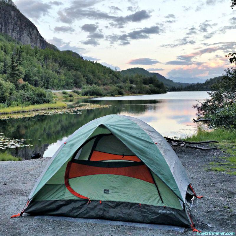 Solo Camping Alaska