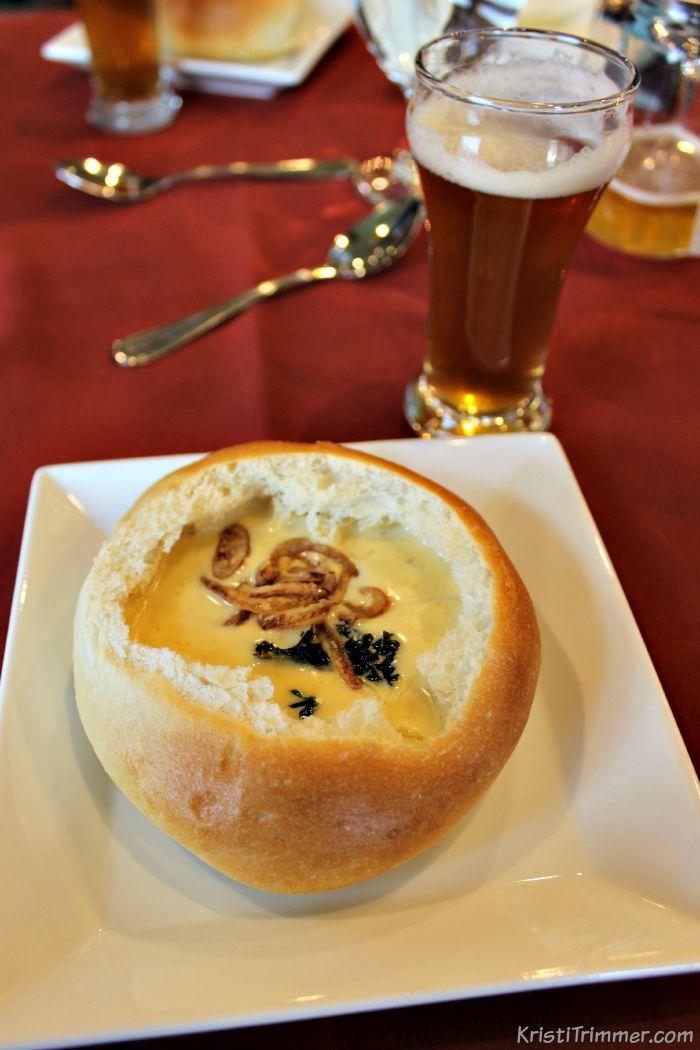TAL - Cheddar Beer Soup