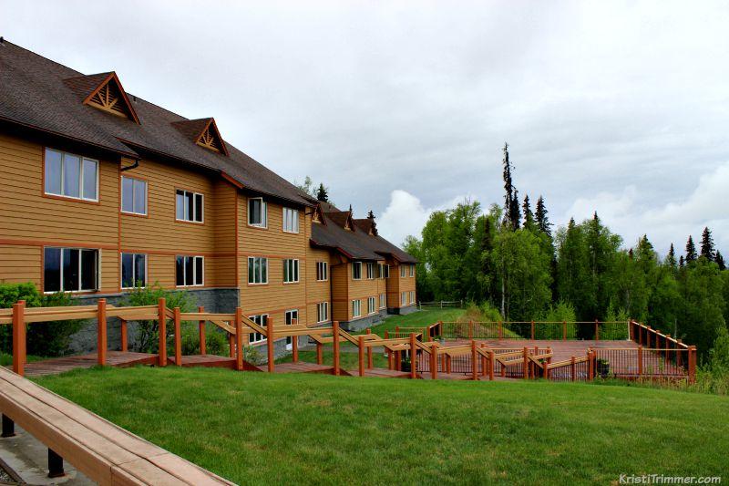 Talkeetna Alaskan Lodge Viewing Deck