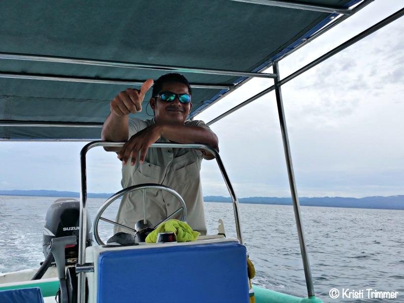 Costa Rica_Dolphin Boat Captain