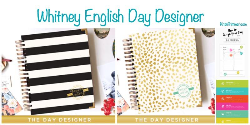 Whitney English Day Designer