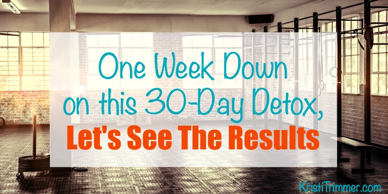 30 Day Detox Results