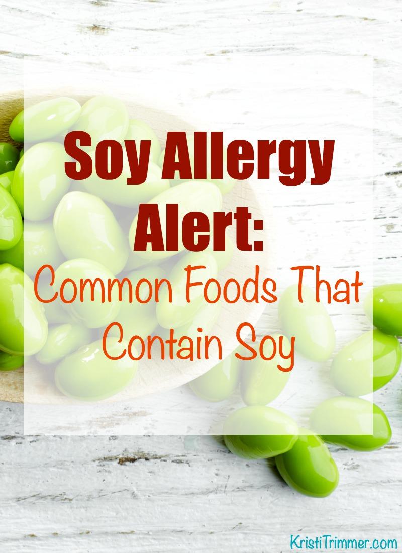 Soy Allergen List