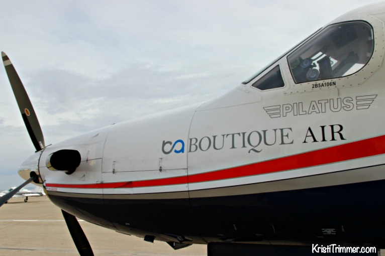 Boutique Air Private Plane Nose