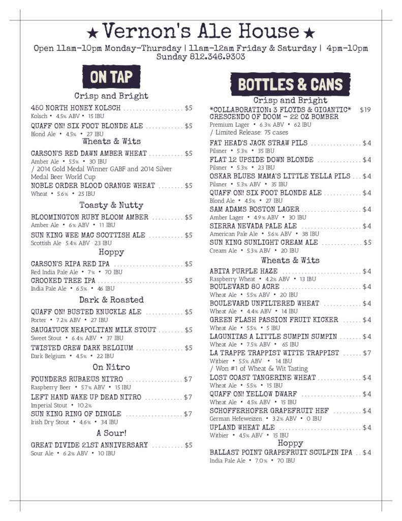 Vernons Ale House Beer Menu_page-1 (3)