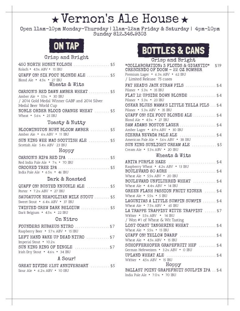 Vernons Ale House Beer Menu_page-1 (3)