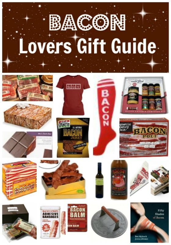 Bacon Lovers Gift Guide