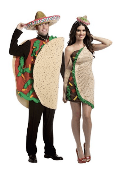 Adult taco costumes