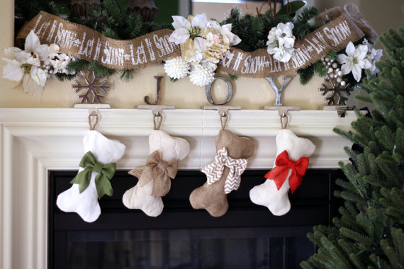 Mini Dog Bone Stockings