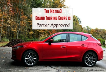 The Mazda3 Grand Touring Coupe is Porter Approved