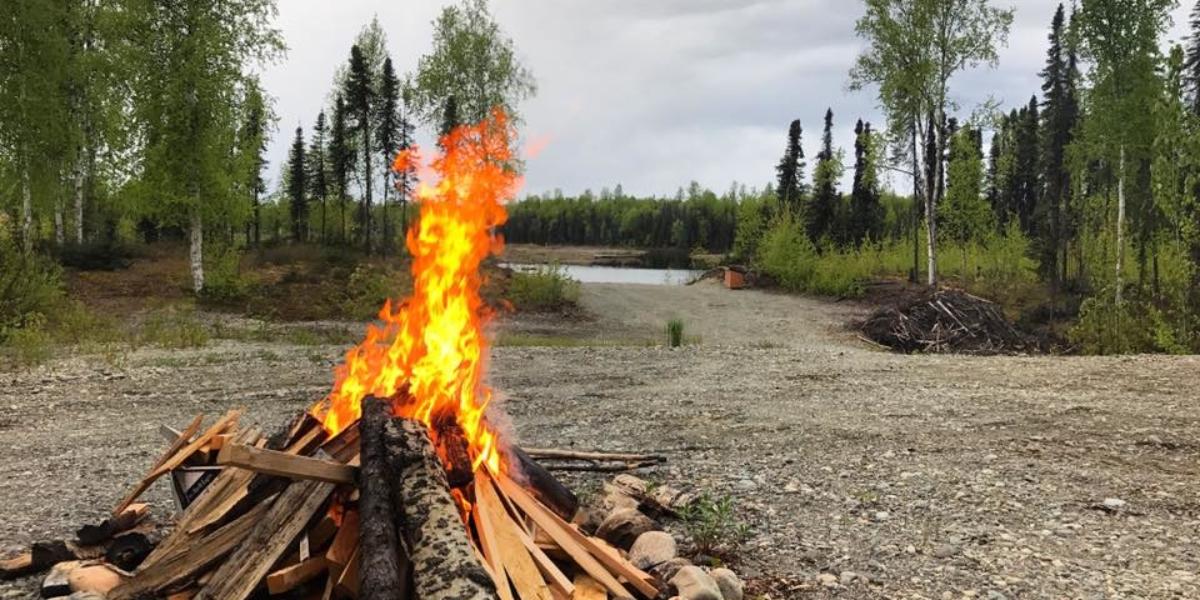 Talkeetna Alaska Fire