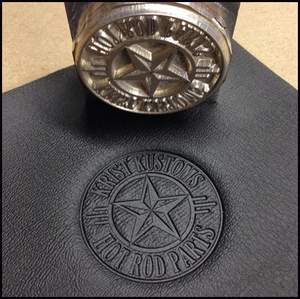 custom embossing stamps