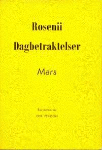 Rosenii dagbetraktelser mars