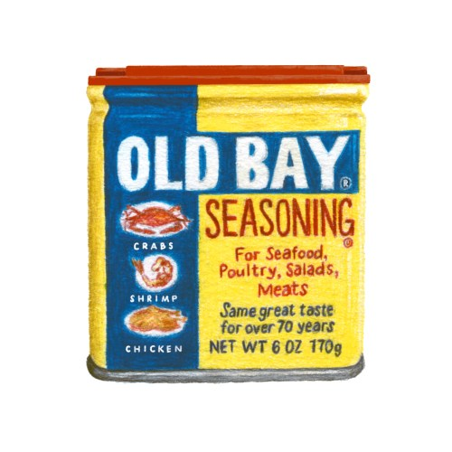 Old Bay tin