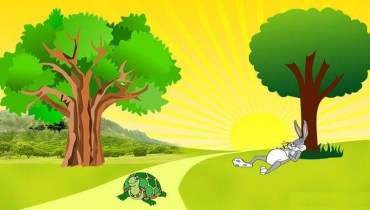 rabbit-and-turtle-story-never-give-up