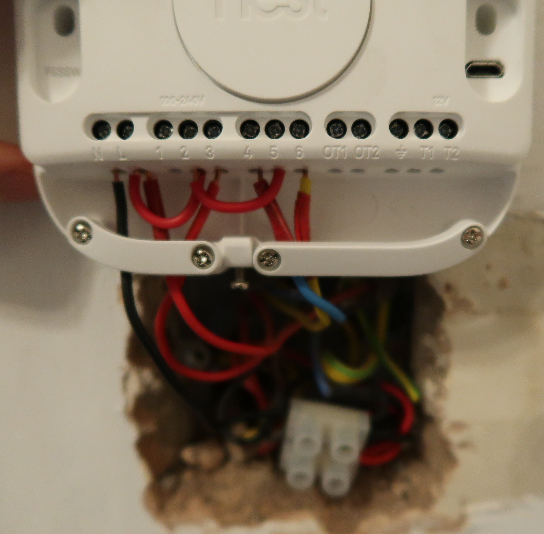 hight resolution of replacing honeywell st7100 with nest thermostat