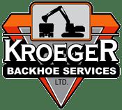 Kroeger Backhoe Logo