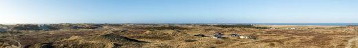 Panorama Dünen - Haurvig Strand