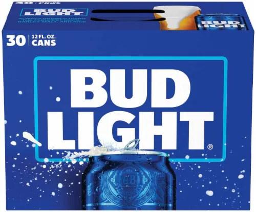 ralphs bud light beer 30 cans 12 fl oz