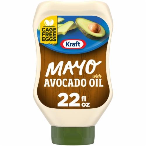 QFC - Kraft Reduced Fat Avocado Oil Mayonnaise 22 fl oz