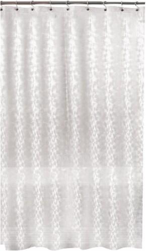 kroger everyday living balloon embossed peva shower curtain clear 1 ct