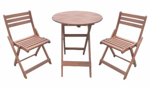 fred meyer hd designs outdoors avery bistro set natural 3 pc