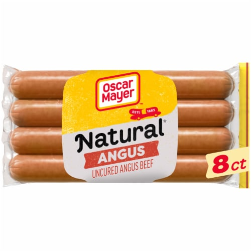 smith s food and drug oscar mayer selects natural gluten free bun length angus uncured beef franks 8 ct 14 oz