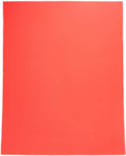 paper premium 6 ply poster board red