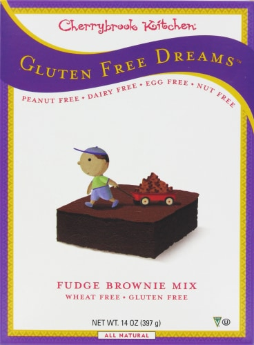cherrybrook kitchen home depot tile pick n save gluten free dreams fudge brownie mix perspective front