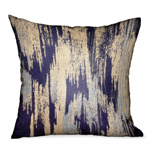 qfc plutus ocean avalanche blue ikat luxury outdoor indoor throw pillow double sided 24 x 24 1