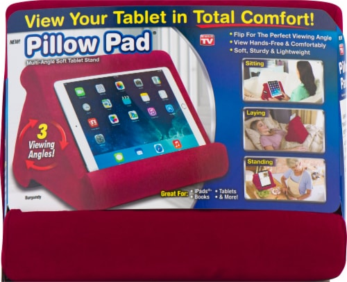 fred meyer pillow pad multi angle soft tablet stand assorted 1 ct