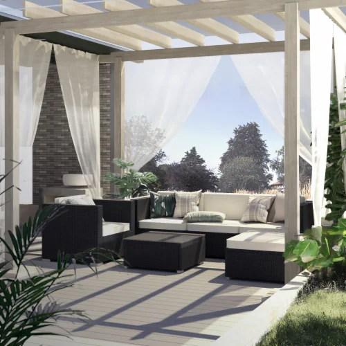 kumo outdoor sectional 4 piece patio