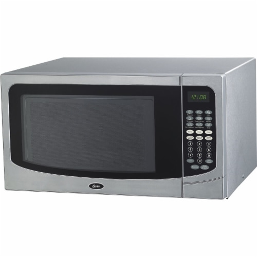 kroger oster 1000w microwave oven stainless steel 1 6 cu ft