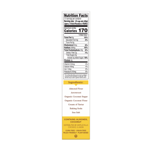 Fred Meyer - Simple Mills Gluten Free Pancake & Waffle ...