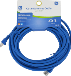 ge cat 6 25 ft ethernet cable [ 972 x 1000 Pixel ]