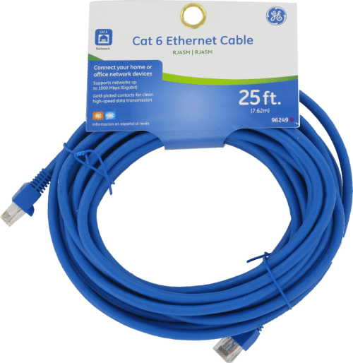 small resolution of ge cat 6 25 ft ethernet cable