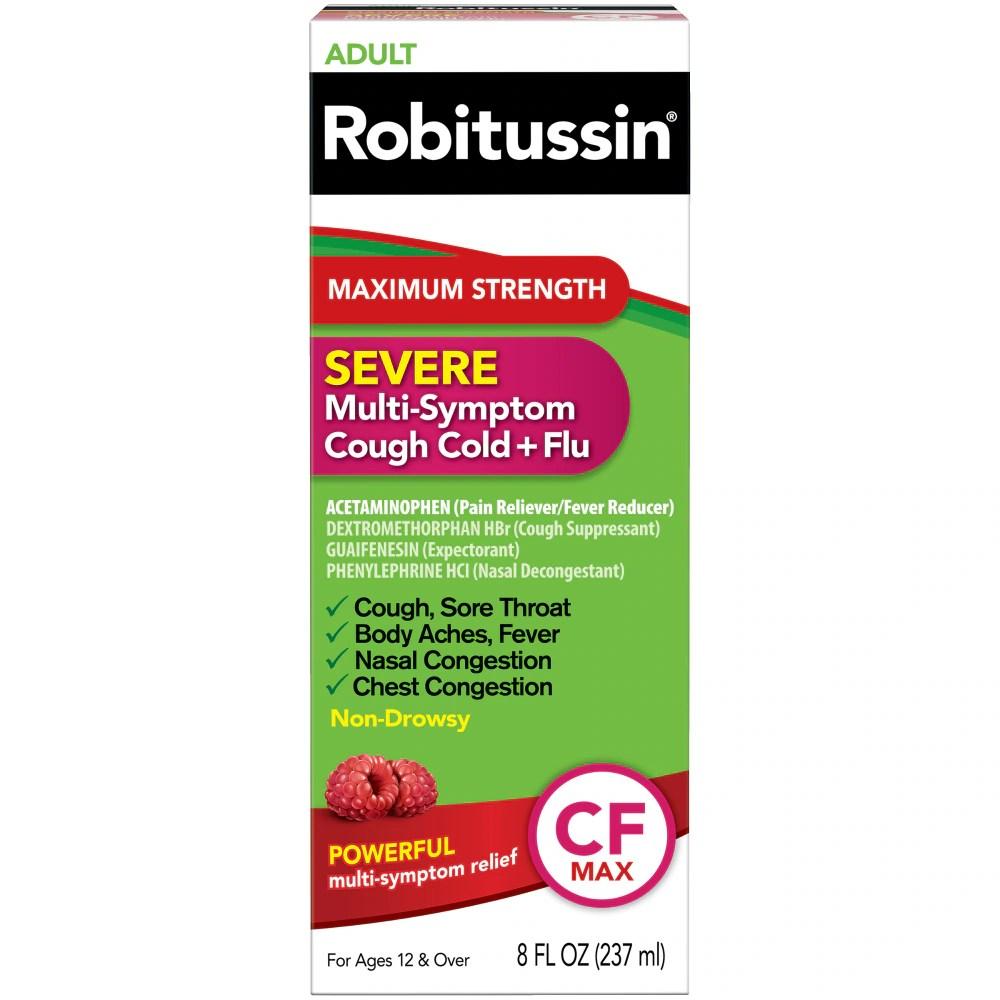 Ralphs - Robitussin Severe Maximum Strength Adult Multi-Symptom ...