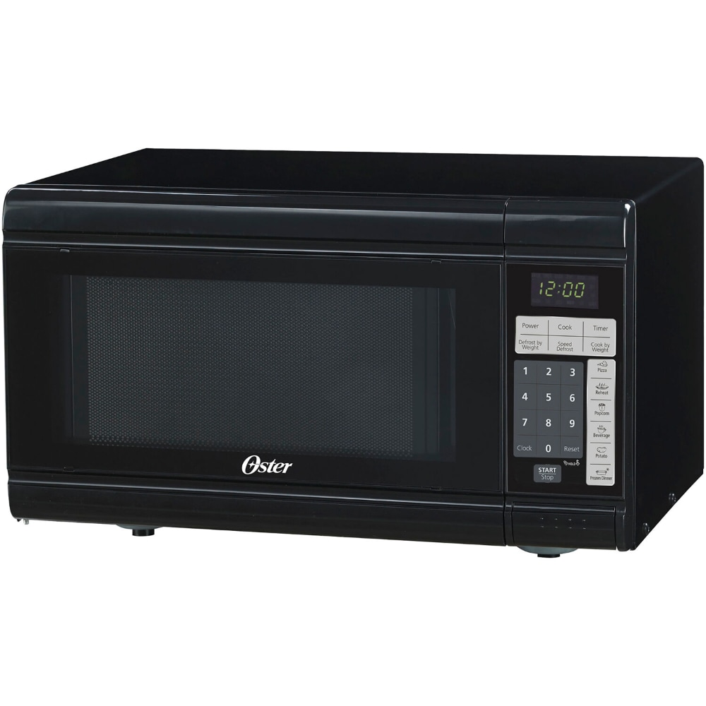 oster countertop microwave oven black 0 9 cu ft