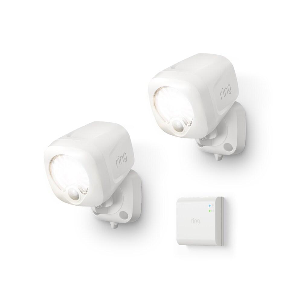 ring smart lighting spotlight 2 pack bridge white 3 pc