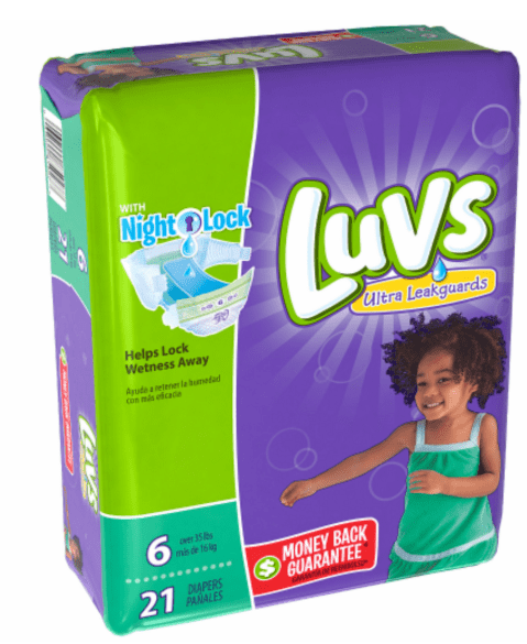 Luvs Diapers Only $4.99 (reg $7.29) - Kroger Couponing
