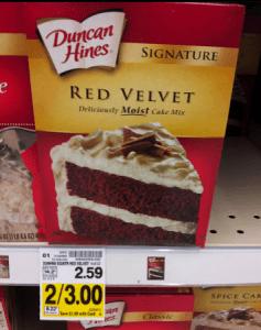 duncan hines red velvet