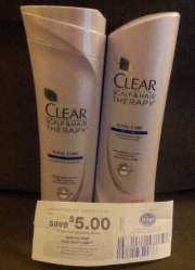 free clear hair shampoo & conditioner