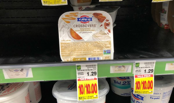 Free Fage Crossovers Greek Yogurt Kroger Krazy