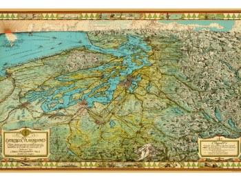 Antique Kroll Maps