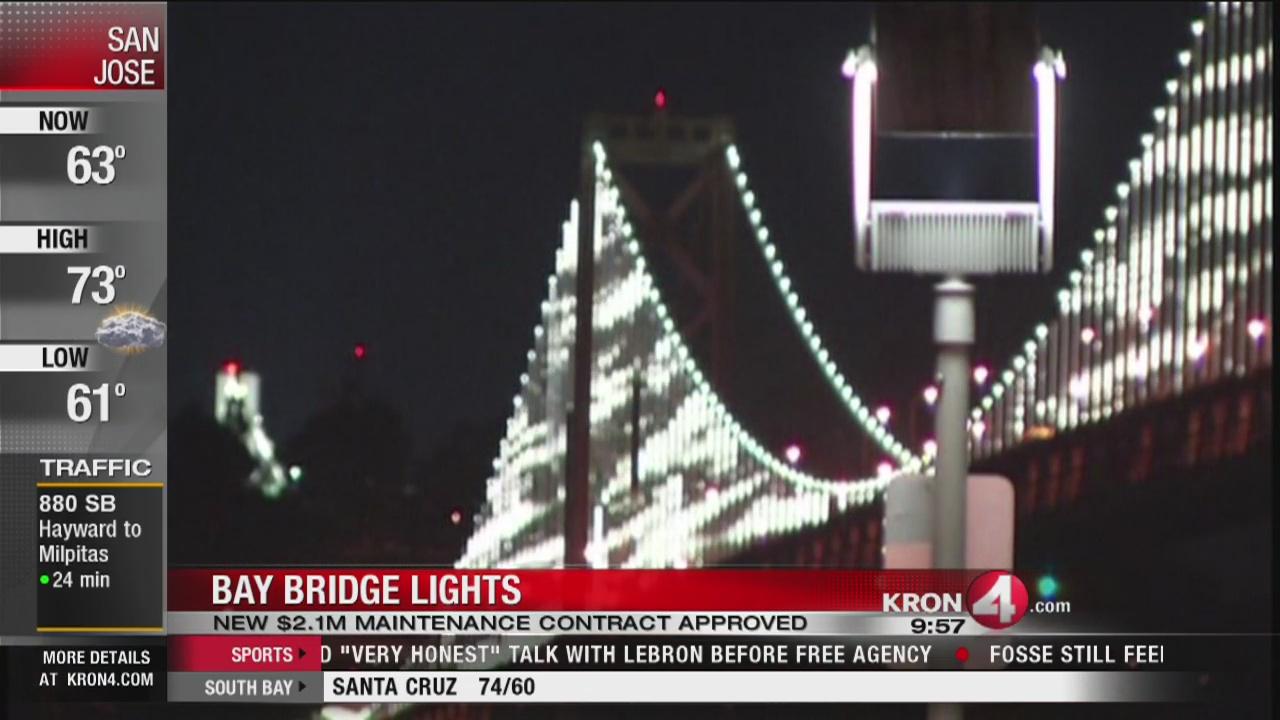 Bay Bridge lights to return